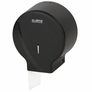 LIMA / Toilet paper dispenser PROFESSIONAL ORIGINAL (T2 system), small, black, ABS plastic