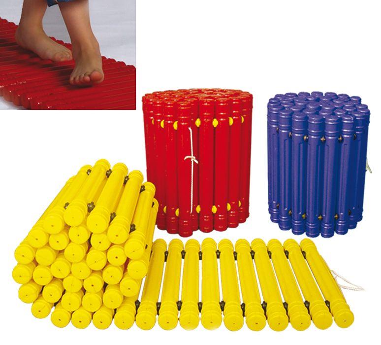 MB Barbell / Massage path (ribbed mat) L 150cm