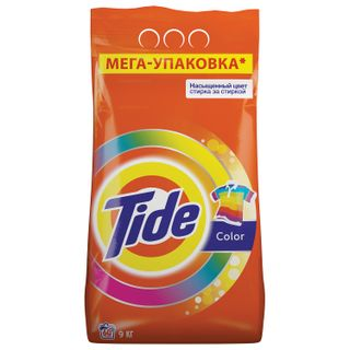 Washing powder-automatic 9 kg, TIDE (Tide) Color