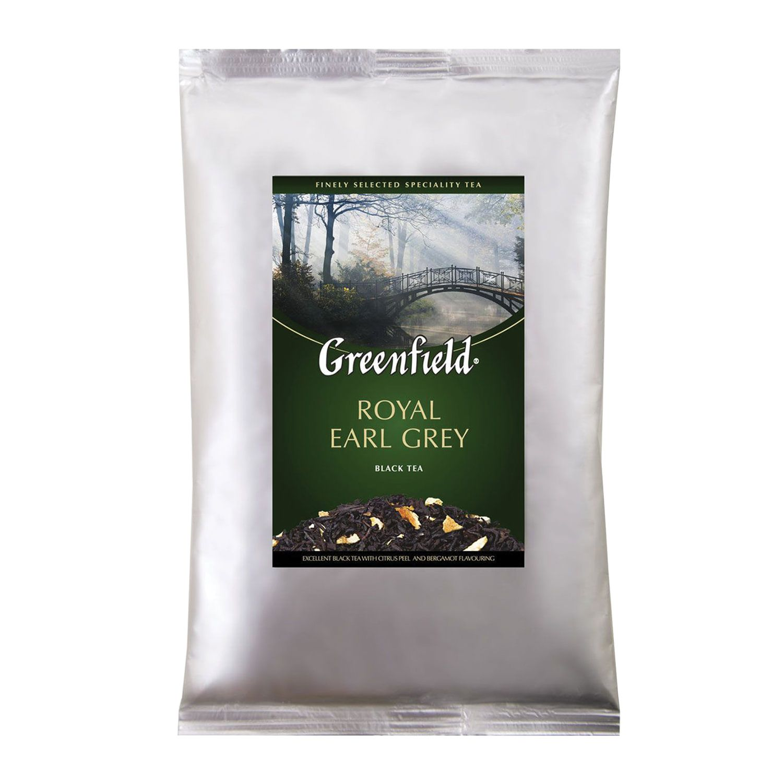 "GREENFIELD / Black tea ""Royal Earl Gray"" with bergamot leaf, packet 250 g"