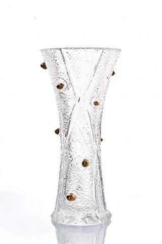 """Crystal vase for flowers """"Morozko"""""""