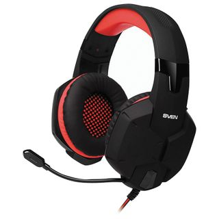 SVEN / Headphones with microphone (headset) AP-G988MV, wired, 1.2 m, with headband, black-red