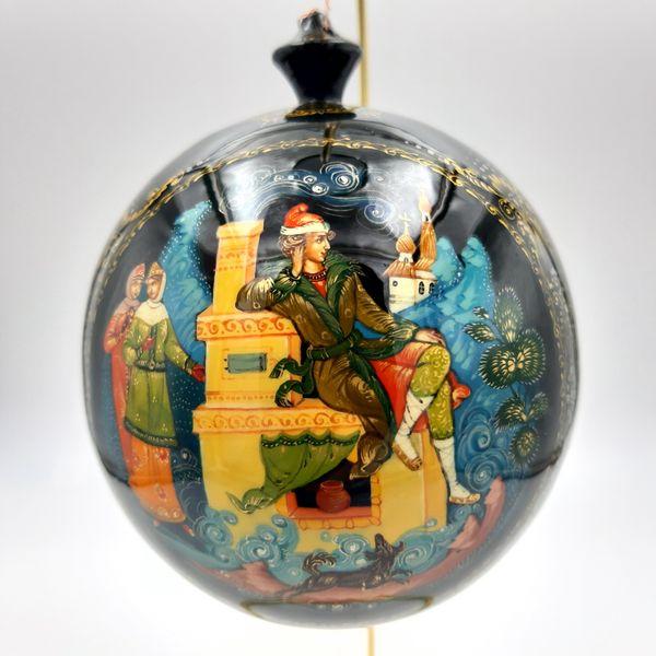 Palekh / Christmas tree ball ''