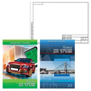 Big FORMAT folder (297x420 mm) A3, 10 sheets, 160 g/m2, horizontal stamp frame, CTS