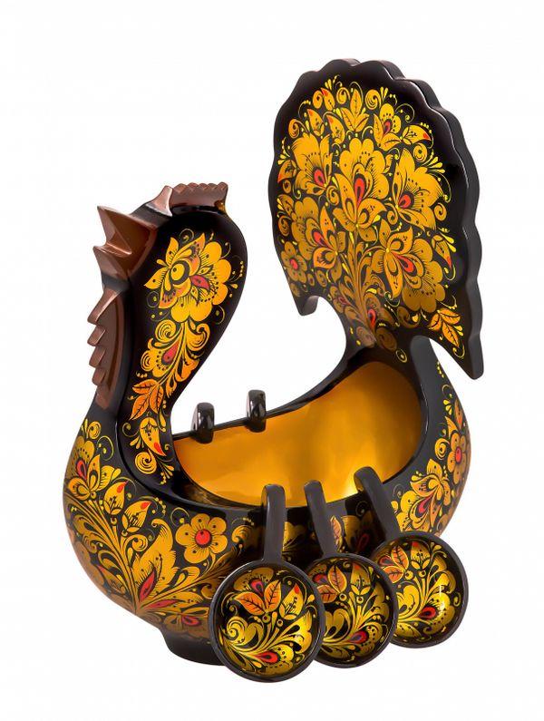 Bucket Peacock 300х230х110 mm