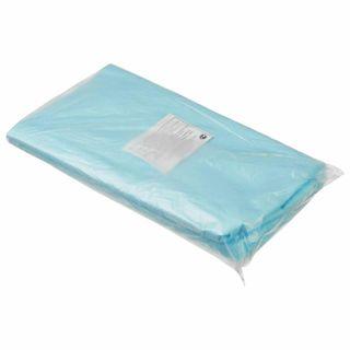 HEXA / Non-sterile disposable sheets, set of 20 pcs. 70x80 cm, laminated spunbond 40 g / m2, blue