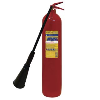 FROST / Carbon dioxide fire extinguisher OU-5, VSE (liquid and gaseous substances, electrical installations)