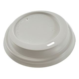 FORMATION / Disposable lids for glass 250 ml (d-80), SET 100 pcs., Brewhouse, white, CH-80-A