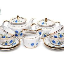 "Tea set ""Cornflower"""