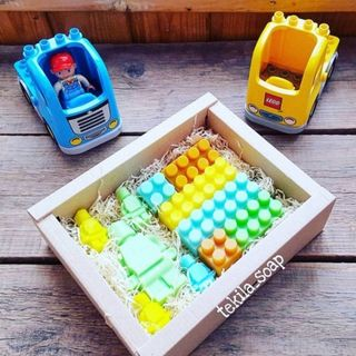 "Set of children's soap ""LEGO"""
