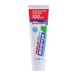 Toothpaste 100 ml, NEW PEARL, comprehensive protection against caries, with a strong mint aroma