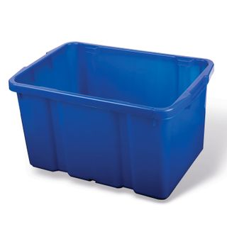 Stackable storage box, 60 l, 60x40x34 cm, blue