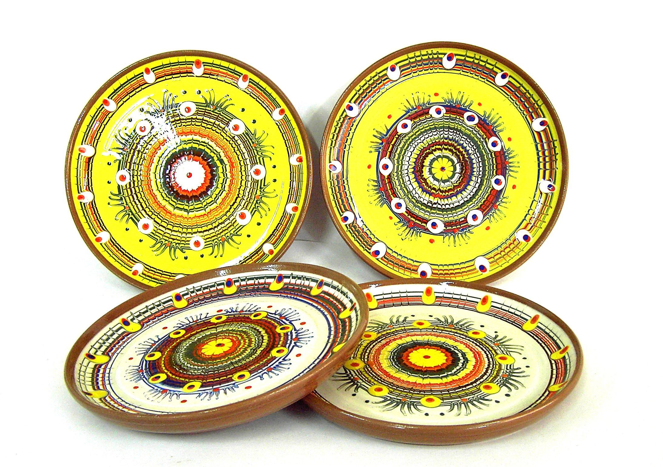 """Tarusa artist / Plate """"For the second"""", 22cm"""