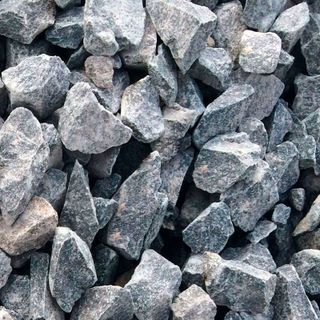 Crushed stone of various fractions