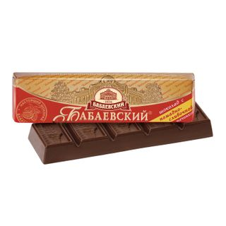 BABAEVSKY / Dark chocolate with fondant-cream filling, 50 g