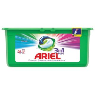 The detergent for washing in capsules 30 pieces of 27 g ARIEL (Ariel) Color