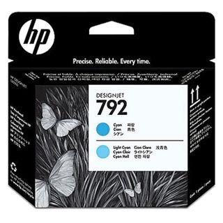 DesignJet L26500 # 792 Light Cyan / Cyan Original HP / Plotter Printhead (CN703A)