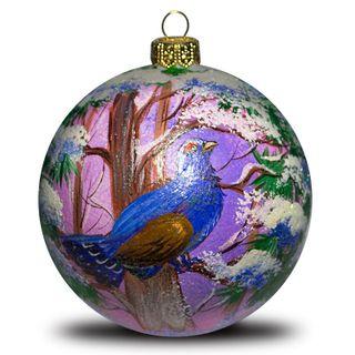 Christmas ball fantastic bird
