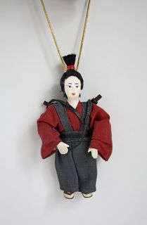 Samurai. Japan. Doll pendant