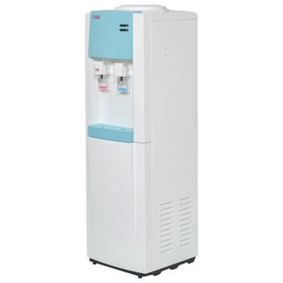 AEL LD-AEL-58 water cooler, floor, NEW/GREEN ELAND, 2 taps, white/turquoise, 00270