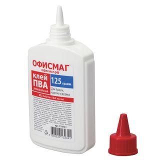 PVA glue FISMA (paper, cardboard, wood), 125 g, RUSSIA