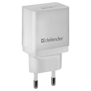 DEFENDER / AC charger (220 V) EPA-10, 1 USB port, output current 2.1 A, white