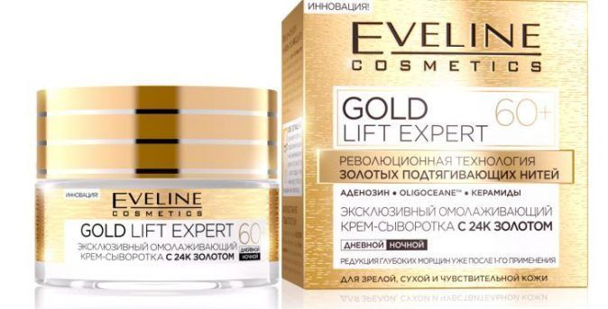 Exclusive anti-aging serum with 24K gold 60+ gold series expert lift, Nivea, 50 ml