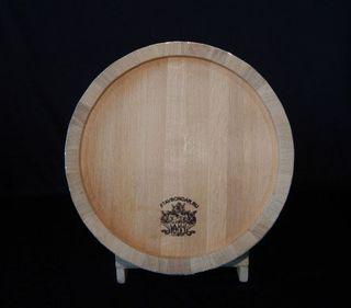 Barrel oak - 50 liters, medium internal roasting (without stand)