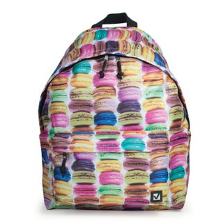 Backpack BRAUBERG, universal, city-format, multi-colored,