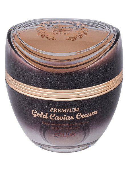 Rejuvenating anti-wrinkle cream with black caviar and gold particles , CELLIO , 50ml