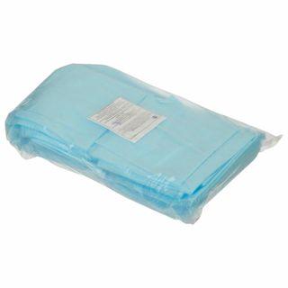 HEXA / Non-sterile disposable sheets, set of 40 pcs., 70x80 cm, spunbond 25 g / m2, blue