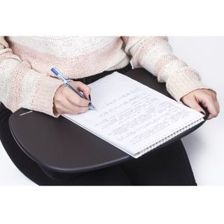 Stand-table with soft cushions, for laptop and creativity BRAUBERG, 430x330 mm, black