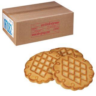 "YASHKINO / Cookies ""Divnaya Darenka baked milk"", sugar, by weight, corrugated box, 4 kg"