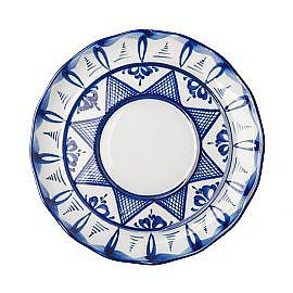 The saucer Dove, 1st grade, Gzhel Porcelain factory