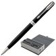Ballpoint pen PARKER 'Sonnet Matt Black CT Core Slim', slim case, black lacquer, palladium details, black - view 1