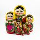 Russian - traditional nesting doll, 7 dolls - view 2
