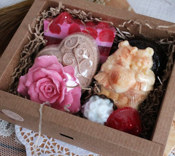 Fragrant Fairy Tale - handmade gift set from cosmetics