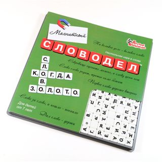"Board game ""Slovoedel Magnetic"" (mini-chips)"