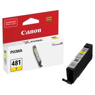 Inkjet cartridge CANON (CLI-481Y) for PIXMA TS704 / TS6140, yellow, yield 257 pages, original