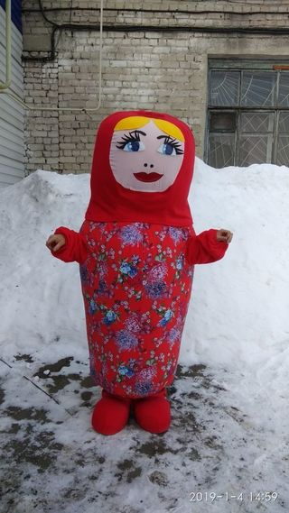 Growth doll Matryoshka