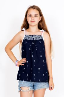Blouse With Daisies Art. 5409
