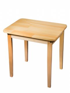 "Table wooden ""Baby"" 3 growth categories"