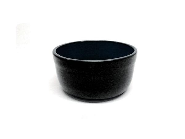 "Vyatka ceramics / Set of containers ""Julia"" 0.2 l, 10 pcs. (black amber)"