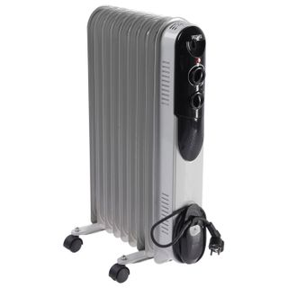 Oil heater RESANTA OMPT- 9N, 2000 W, 9 sections, white