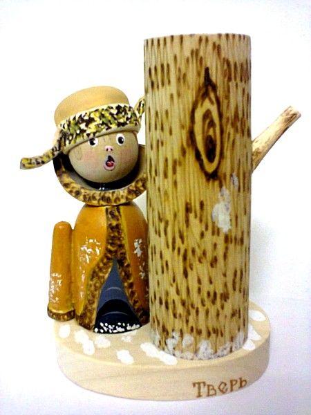 """Tver souvenirs / Pencil holder """"Filipok"""""""