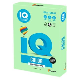 IQ COLOR / A4 paper, 80 g / m2, 500 sheets, pastel, green