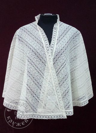 Women's drape lace
