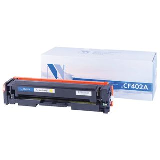 Toner Cartridge NV PRINT (NV-CF402A) for HP M252dw / M252n / M274n / M277dw / M277n7, yellow, yield 1400 pages