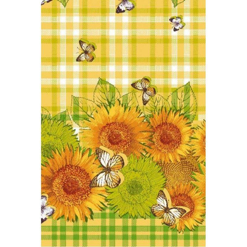 """Waffle Towel """"Flowers"""""""