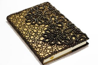 Diary gold with black
